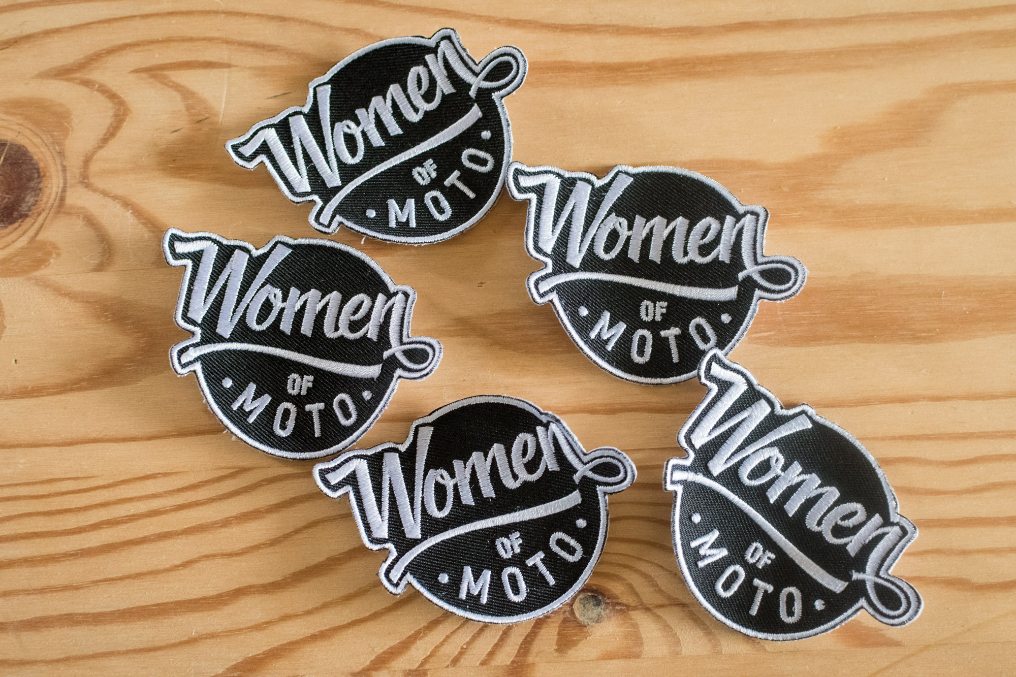 Women of Moto Patches
